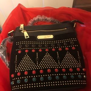 Nicole Lee Tribal print crossbody bag